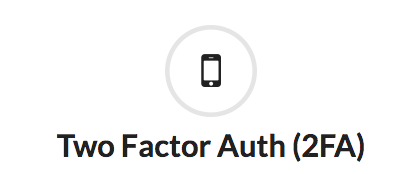 autenticazione a due fattori