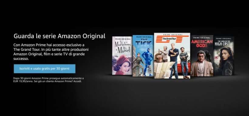 amazon prima video, catalogo, costi e recensioni