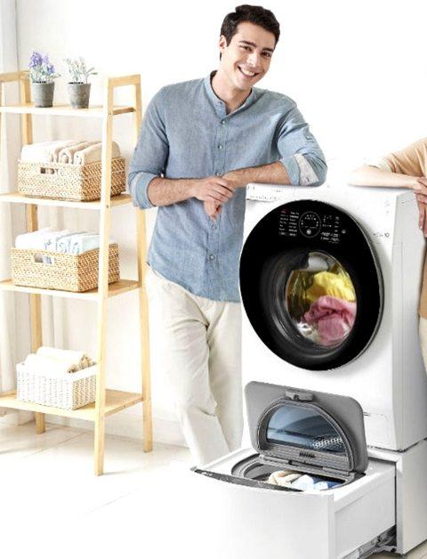 Lavatrice doppio cestello advister for Lavatrice doppio cestello
