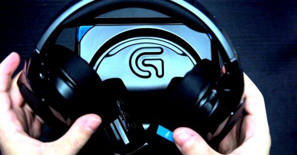 Cuffie Logitech G933 wireless