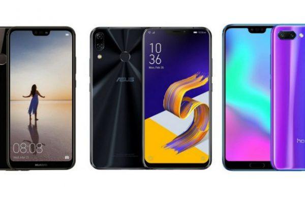 Honor 10 vs Zenfone 5 vs Huawei P20: Confronto migliori smartphone fascia media