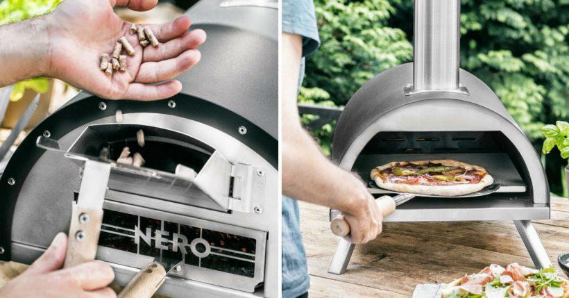 Plafoniere Per Forni A Legna : Forno per pizza da casa portatile o giardino carbone