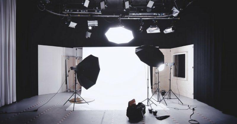 kit illuminazione fotografica