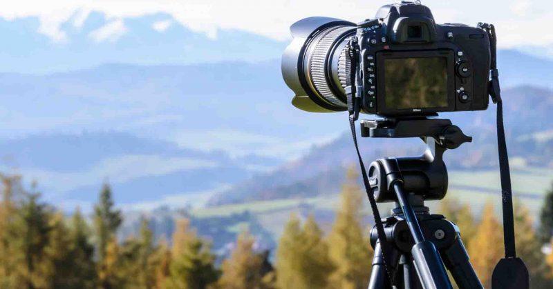 Cavalletto macchina fotografica