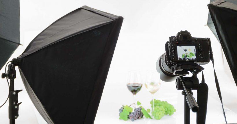Illuminazione per set fotografico servizio fotografico