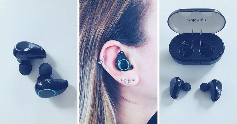 Auricolari HolyHigh i7: Recensione delle in ear bluetooth economiche