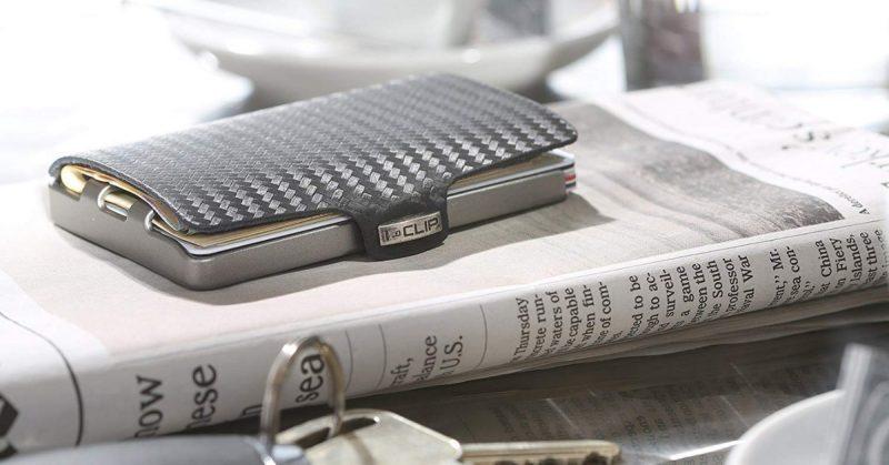 1f47a7251c La novità dell'anno è l'originalissimo portafoglio I-Clip porta carte di  credito e porta banconote