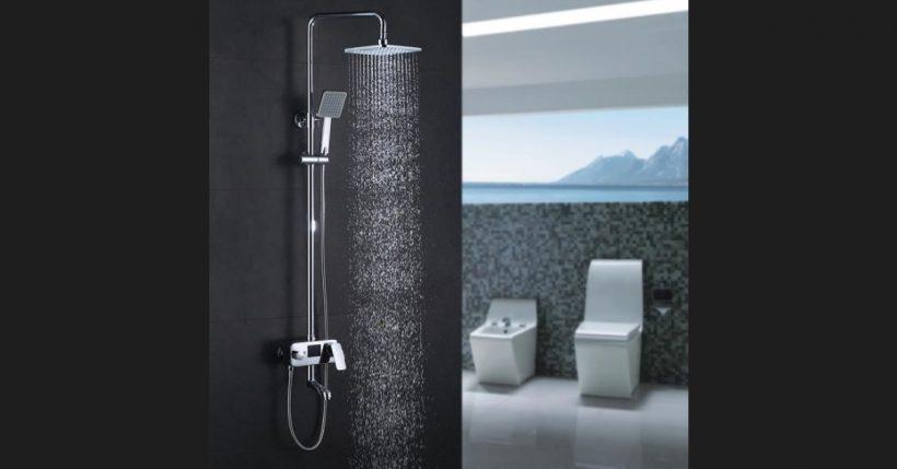 Colonna doccia termostatica homelody è la perfetta doccia moderna