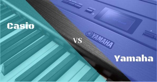 Pianoforte digitale Yamaha vs Casio