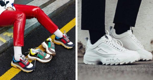 Chunky sneakers 2019: Fila Disruptor e Fornarina tra le più cool