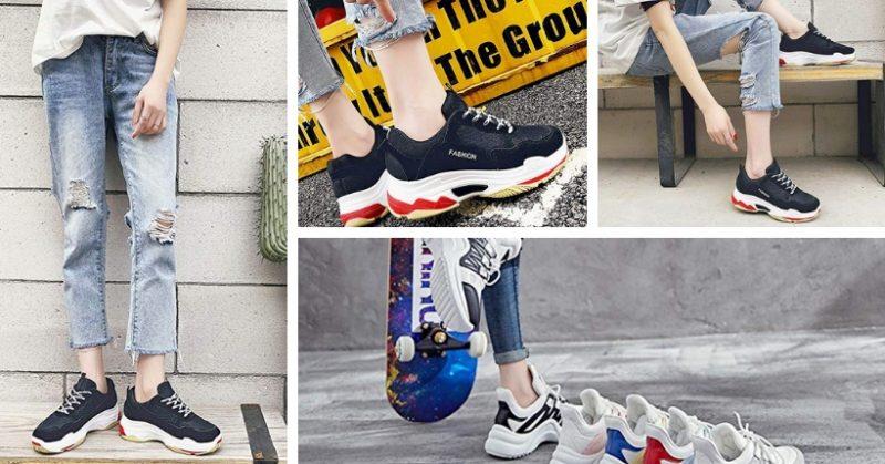 d25e1bf6ac91 Chunky sneakers economiche  scarpe alla moda sportive