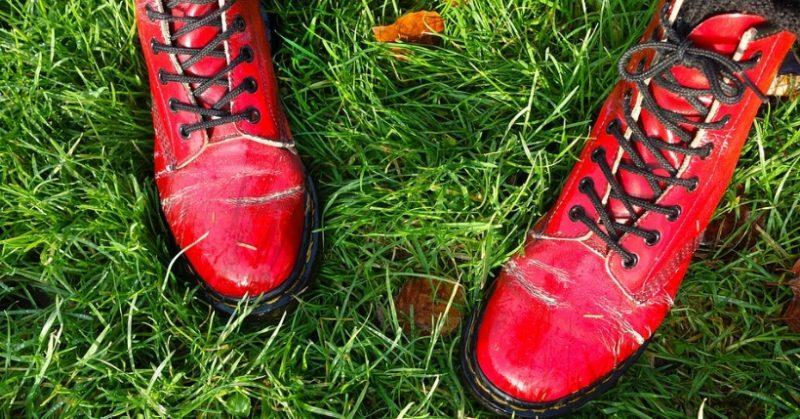 scarpe dr. martens particolari
