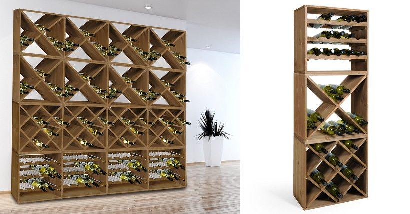 cantinetta vino legno