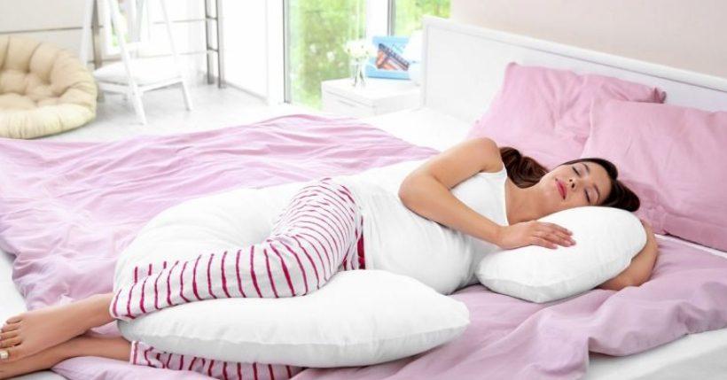 cuscino per chi dorme sul fianco