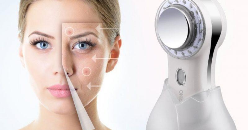 massaggiatore viso ultrasuoni