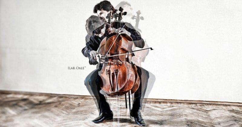 violoncello elettrico di design