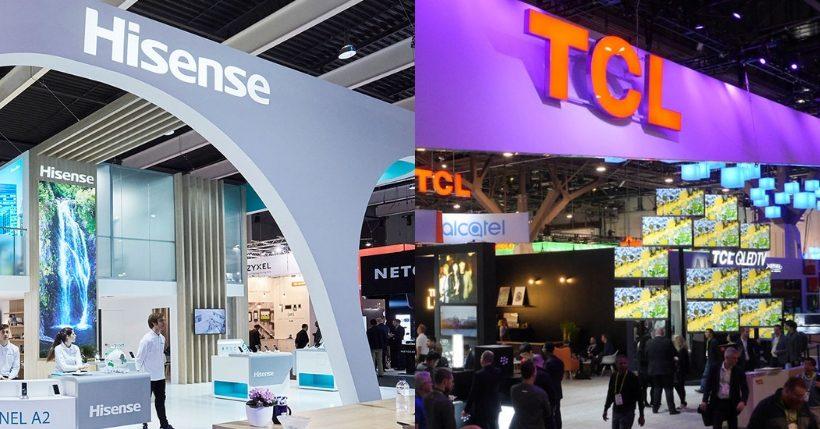 Hisense vs TCL: Il confronto tra i migliori televisori cinesi