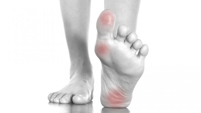 massaggiatore piedi