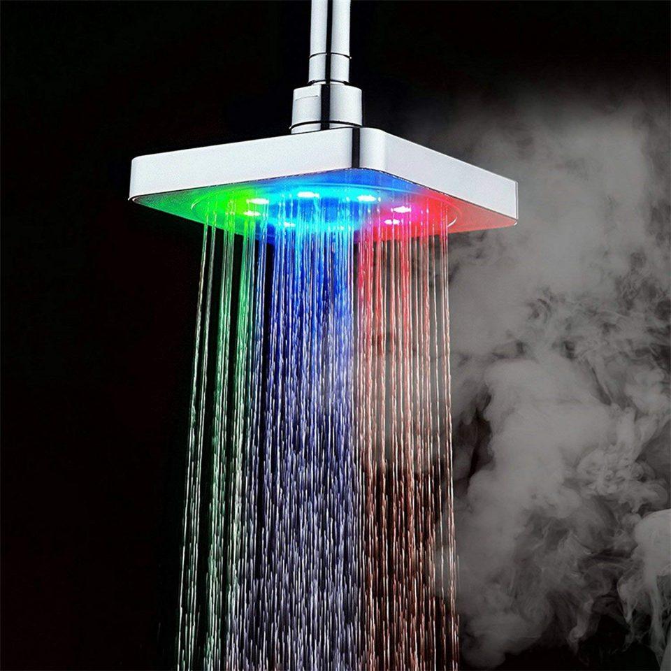 Soffione doccia a cascata o a pioggia_ bellissimo, economico, rilassante