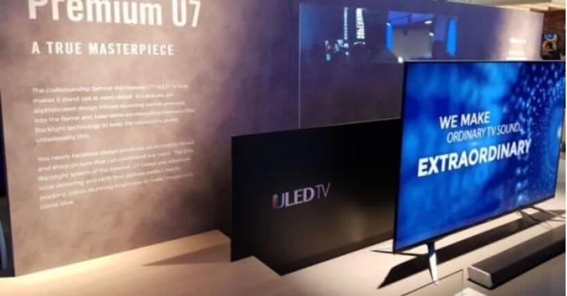 Hisense U7B e U8B: I migliori televisori economici del 2019