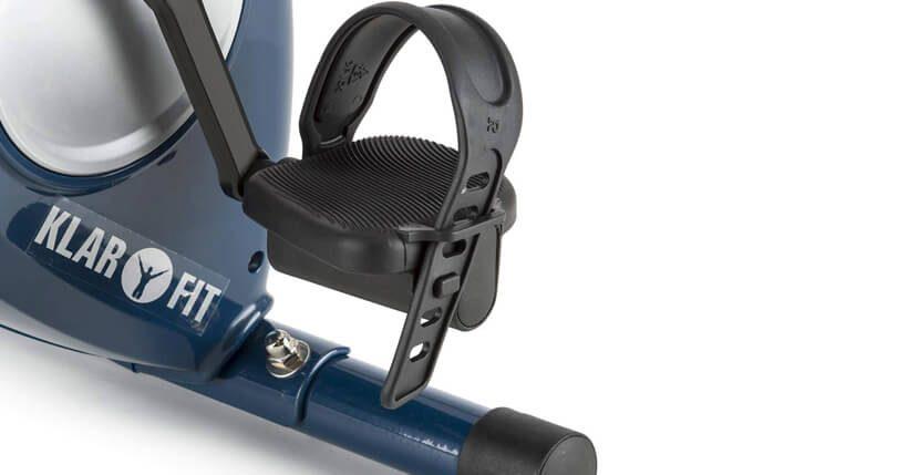 Cyclette pieghevole con schienale