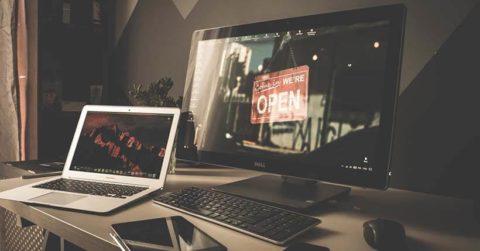 Monitor fotografia