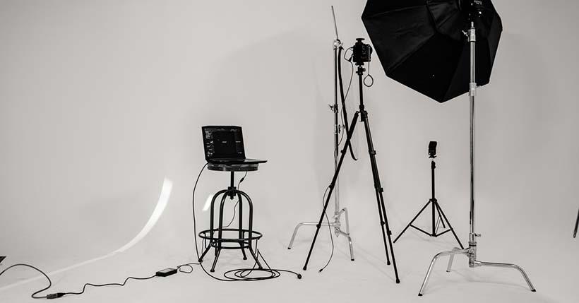 come creare un set fotografico in casa