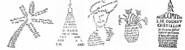 Alcool e Calligrammi – Guillelme Apollinaire