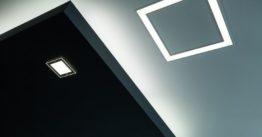 Un pannello LED per l'illuminazione del bagno