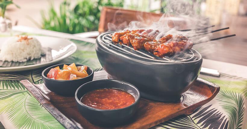 Barbecue da interno senza fumo
