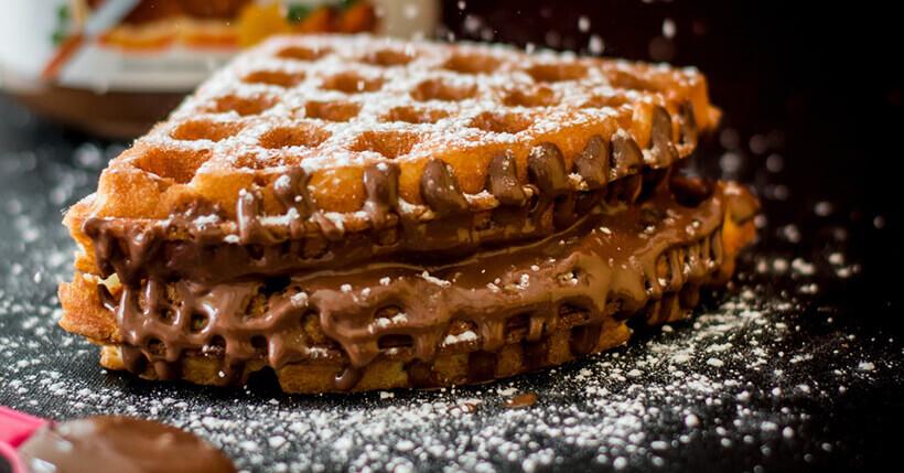 Piastre per waffle